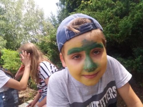 dwd jagusia malowanie twarzy